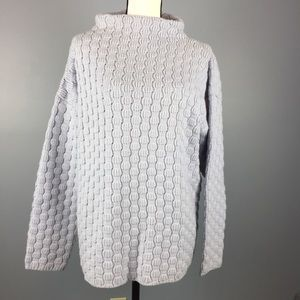 EILEEN FISHER | chunky knit textured sweater Wool